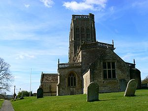 Batcombe, Somerset - Image: Batcombe church