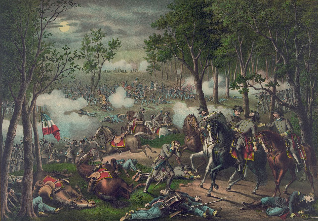 Image result for Battle of Chancellorsville