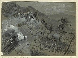 Battle of Rocky Face Ridge - Image: Battle of Rocky Face Ridge