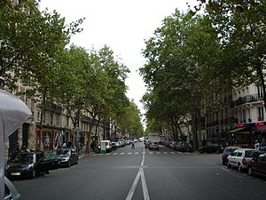 Boulevard Voltaire - View of part of Boulevard Voltaire