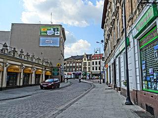 Podwale Street in Bydgoszcz street in Bydgoszcz