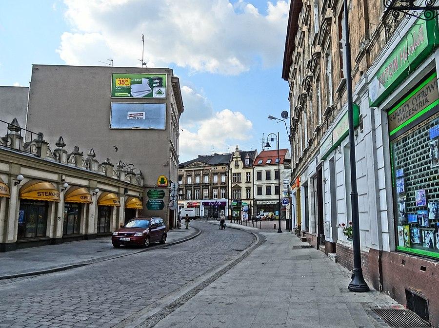 Podwale Street in Bydgoszcz