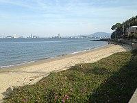 Beach on Nokonoshima Island 20140506-1.JPG