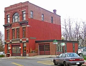 Lower Main Street Historic District - Beacon Firehouse -1