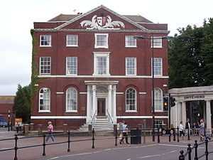 Poole - Beech Hurst in the town centre, a Georgian mansion built in 1798 for a wealthy Newfoundland merchant.