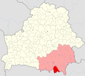 Naroulia District - Image: Belarus, Homieĺskaja voblasć, Naraŭlianski rajon