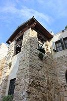 Bell tower at the garden of Gethsemane.jpg
