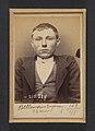 Bellemans. Eugène (ou Michel). 23 ans, né à Gand (Belgique). Tailleur d'habits. Anarchiste. 9-3-94. MET DP290134.jpg