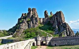 Belogradchik Fortress Castle in Bulgaria