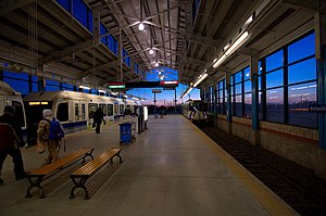 Belvedere LRT Station 6-22am.jpg