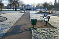 Benches and bandstand - geograph.org.uk - 1737615.jpg