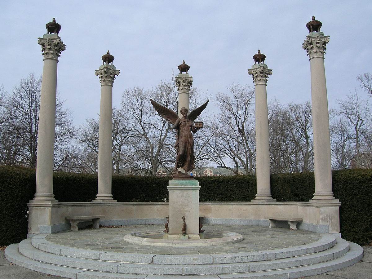 Beneficence (statue) - Wikipedia on indiana state campus diagram, indiana institute of technology, indiana ball state university,