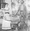 Benjamin S. Van Deusen (1873-1937) and Lynette Mae Curlhair (1872-1942) in Maine, Broome County, New York on August 4, 1900.png