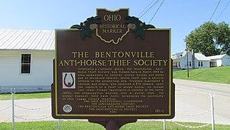Bentonville, Ohio - Image: Bentonville OH4