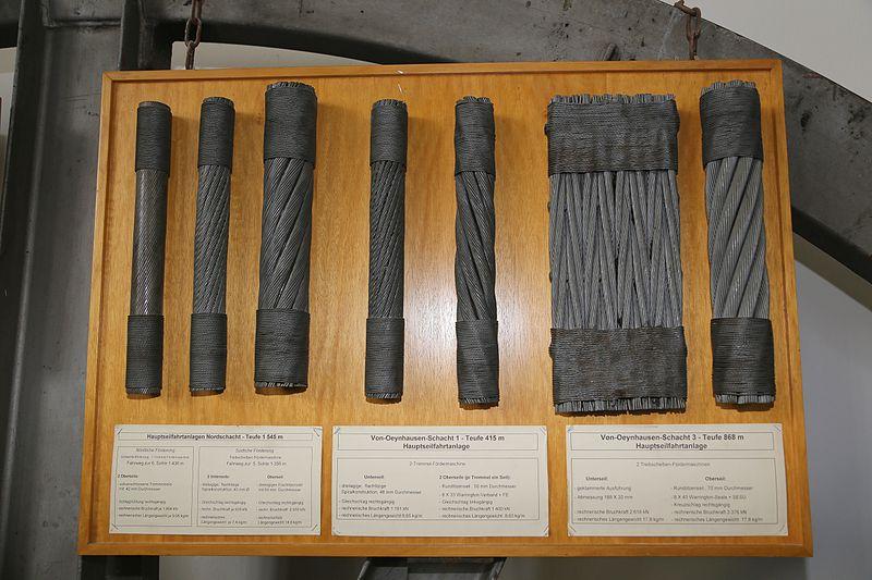 File:Bergbaumuseum Ibbenbueren Drahtseile 01.jpg