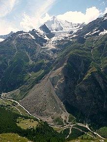 La frana di Randa in Svizzera (Canton Vallese) del 1991.