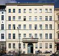 Berlin, Kreuzberg, Oranienplatz 3, Mietshaus.jpg