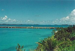 The Causeway, Bermuda - The causeway in 2006