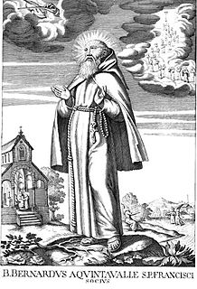 Bernard of Quintavalle Follower of St. Francis of Assisi