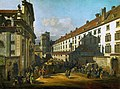 Bernardo Bellotto, called Canaletto - Vienna, Dominican Church.jpg