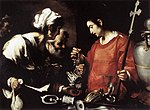 Bernardo Strozzi - The Charity of St Lawrence - WGA21906.jpg