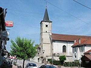 Bertrichamps - Image: Bertrichamps 54 Eglise