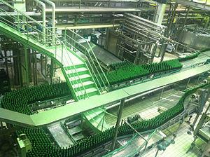 Laško Brewery - Beer filling line