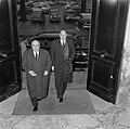 Bespreking Paul H Spaak met Minister Luns Den Haag, Bestanddeelnr 908-2948.jpg