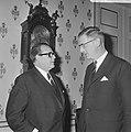 Besprekingen over ontwikkelingshulp door de Westduitse minister H.J. Wischnewski, Bestanddeelnr 920-9808.jpg