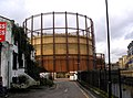 Bethnal Green, Gasholder - geograph.org.uk - 1726965.jpg
