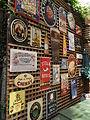 Biermarken im Biergarten San Francisco.JPG