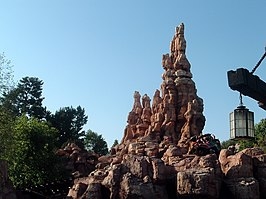 Big Thunder Mountain Railroad in Disneyland