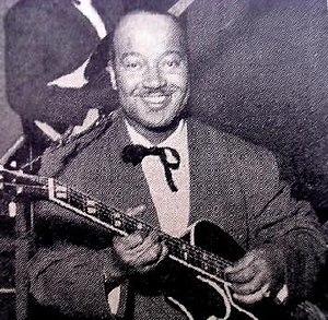 Billy Mackel - Image: Billy Mackel, jazz guitarist, 1953