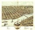 Bird's eye view of the city of Moline, Rock Island County, Illinois 1869. LOC 73693363.jpg