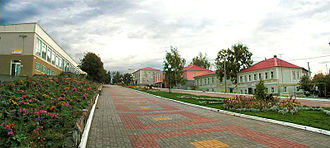 Biryuch - A pedestrian street in Biryuch