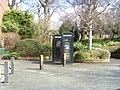 Black telephone boxes. - geograph.org.uk - 741417.jpg