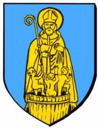 Ergersheim, Bas-Rhin - Image: Blason ergersheim