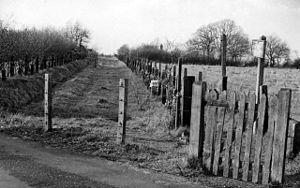 Canterbury and Whitstable Railway - Image: Blean & Tyler Hill Halt 1832585 b 6e 9dd 33