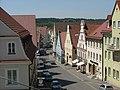 Blick vom Schloss in die Stadtgasse - panoramio.jpg