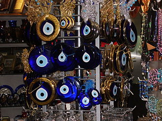 Evil eye - Nazars, charms used to ward off the evil eye.
