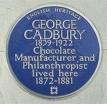 George Cadbury - Wikipedia