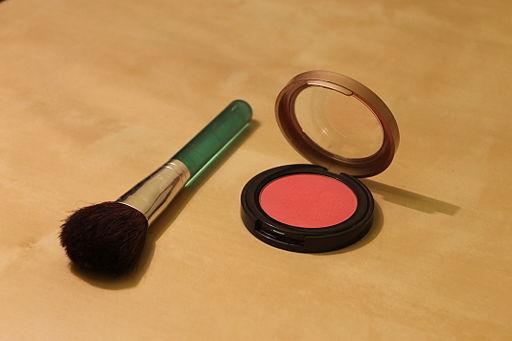 Blush and blush brush