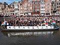 Boat 12 Leger, Marine, Landmacht boot, Canal Parade Amsterdam 2017 foto 4.JPG