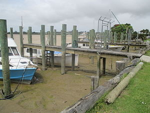 Dargaville - Image: Boats Moored in Dargaville