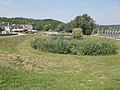 Bodri Lake from south, Bodri Winery Complex in Faluhely Valley, 2016 Szekszard.jpg