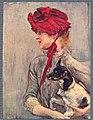 Boldini - Figura femminile con cane, 1884.jpg