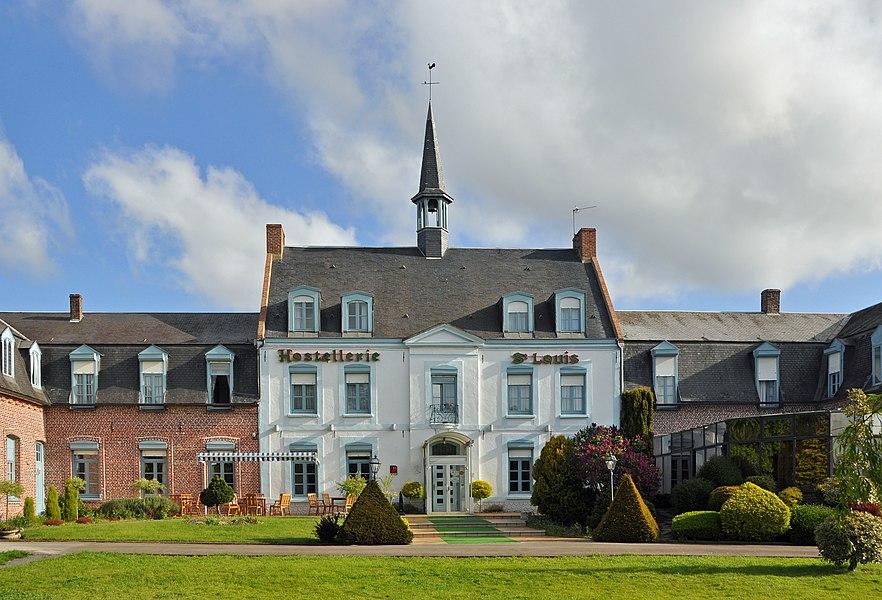 Bollezeele (département du Nord, France): hostellerie Saint-Louis