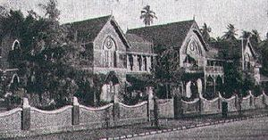 Bombay Scottish School, Mahim - Bombay Scottish School in the early 1900s