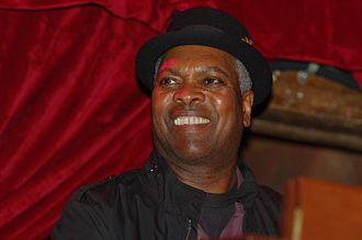 Booker T. Jones - Booker T, live at the Republic April 25, 2009, playing with the Dirty Dozen Brass Band