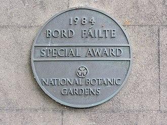 Fáilte Ireland - Bord Fáilte 1984 special award